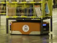 亚马逊Kiva机器人仓库