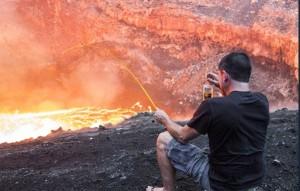 04_新西兰大神火山口的悠闲时间